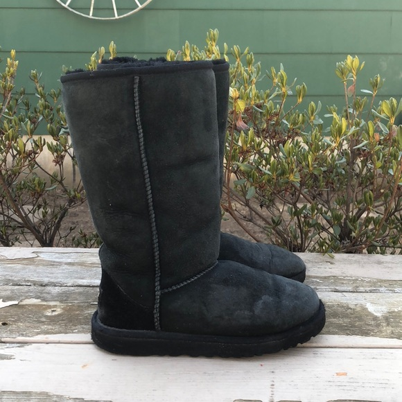 girls classic tall uggs